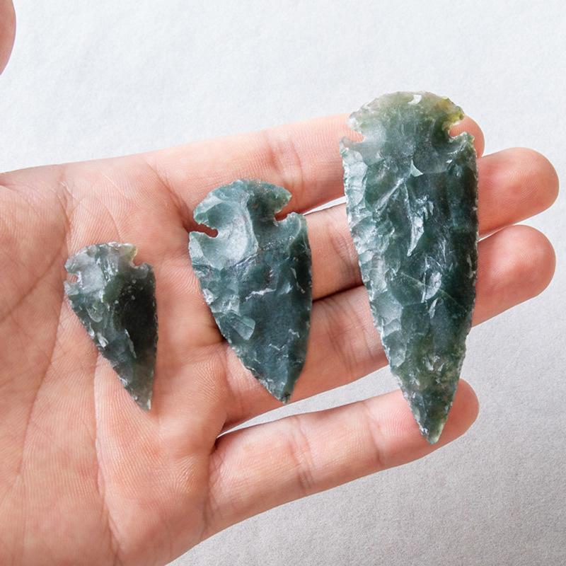 5PC Natural amethyst quartz obelisk crystal Wand point healing  150g 30-60mm。