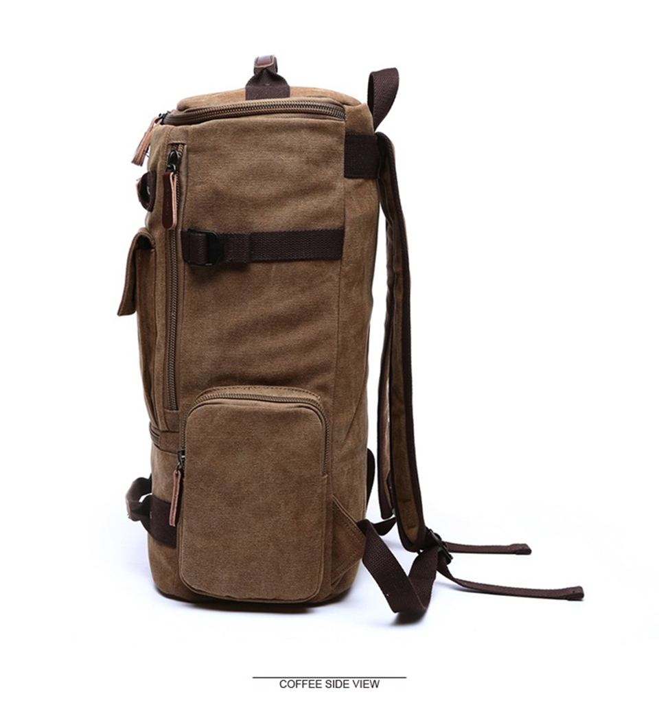 4 Canvas Backpack 15.6