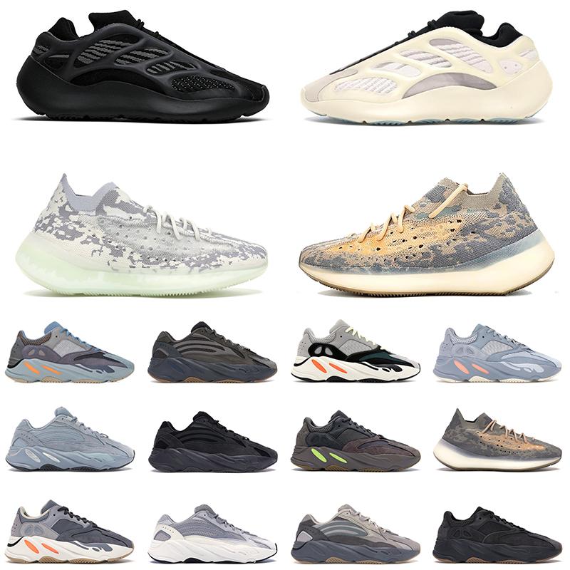 Adidas Yeezy 700 Kanye West Hommes Chaussures de course Vanta 700 V3 Alvah Azael Reflective 380 Mist Alien Luxe Hommes Femmes Designer Sneakers