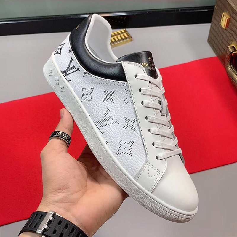 2019 Fashion Classic Luxembourg Sneaker Men S Shoes New Arrival Spring And Summer Low Top Lace Up Casual Men Shoes Comfortable Chunky Sneakers From