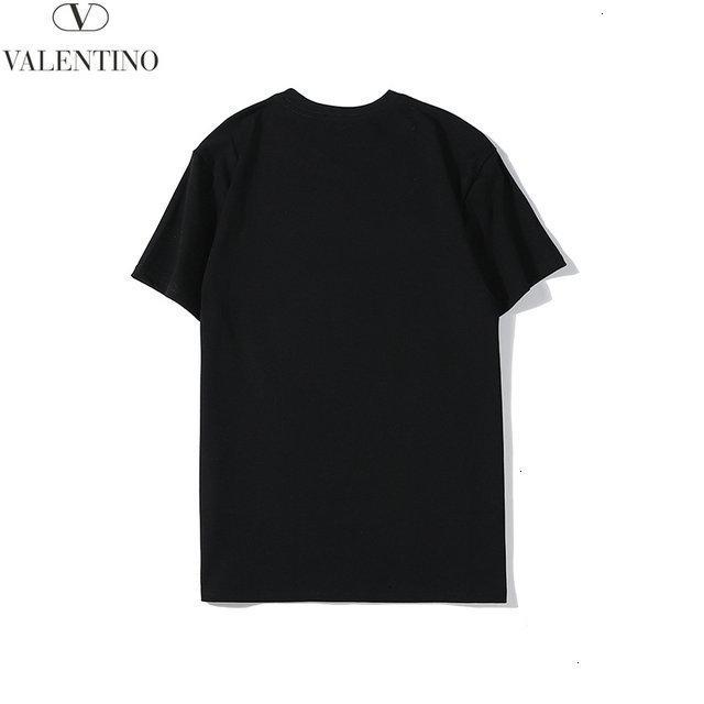 Nouvelle arrivée 2020 hommes T-shirt manches courtes pour hommes T-shirt col rond hauts 191128-63y98 * 3698