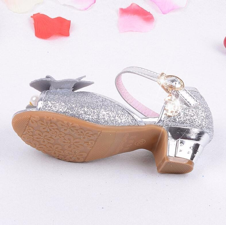 Girls Princess Leather Shoes-20