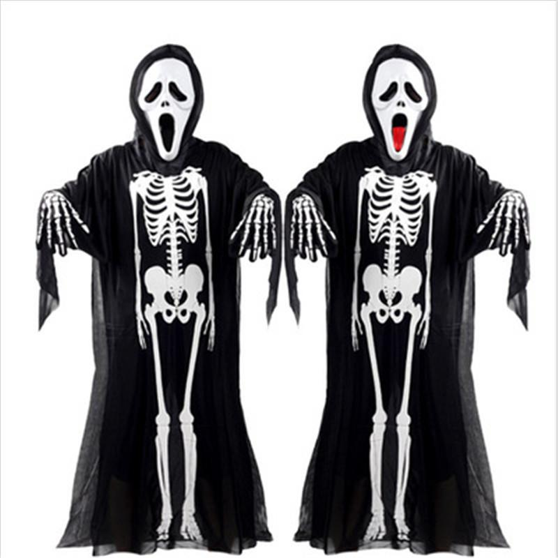 Ragazzi Tuta Scheletro Bond giorno dei morti Sposo Costume Halloween Fancy Dress New