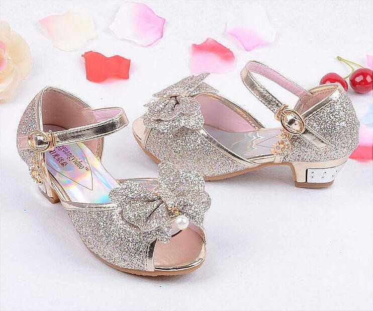 Girls Princess Leather Shoes-18