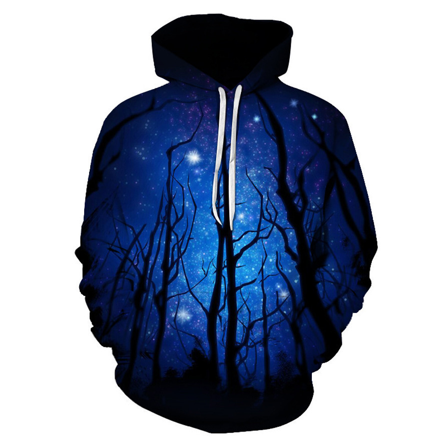 Crazy2019 Foreign Trade Pop Number Printing Men's Wear Sweater Even Hat Loose Coat Wy And - Dx051