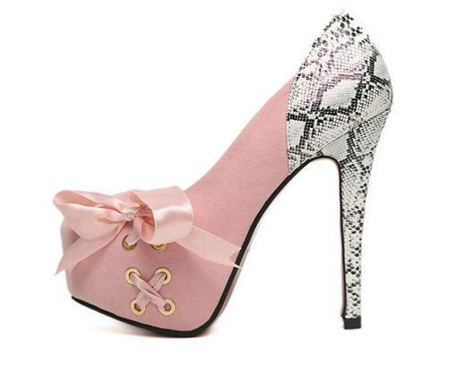 Charm2019 Bright Glittering Glorious Baby Pink Gold Sequin High Heels Mary Jane Strappy Shoes