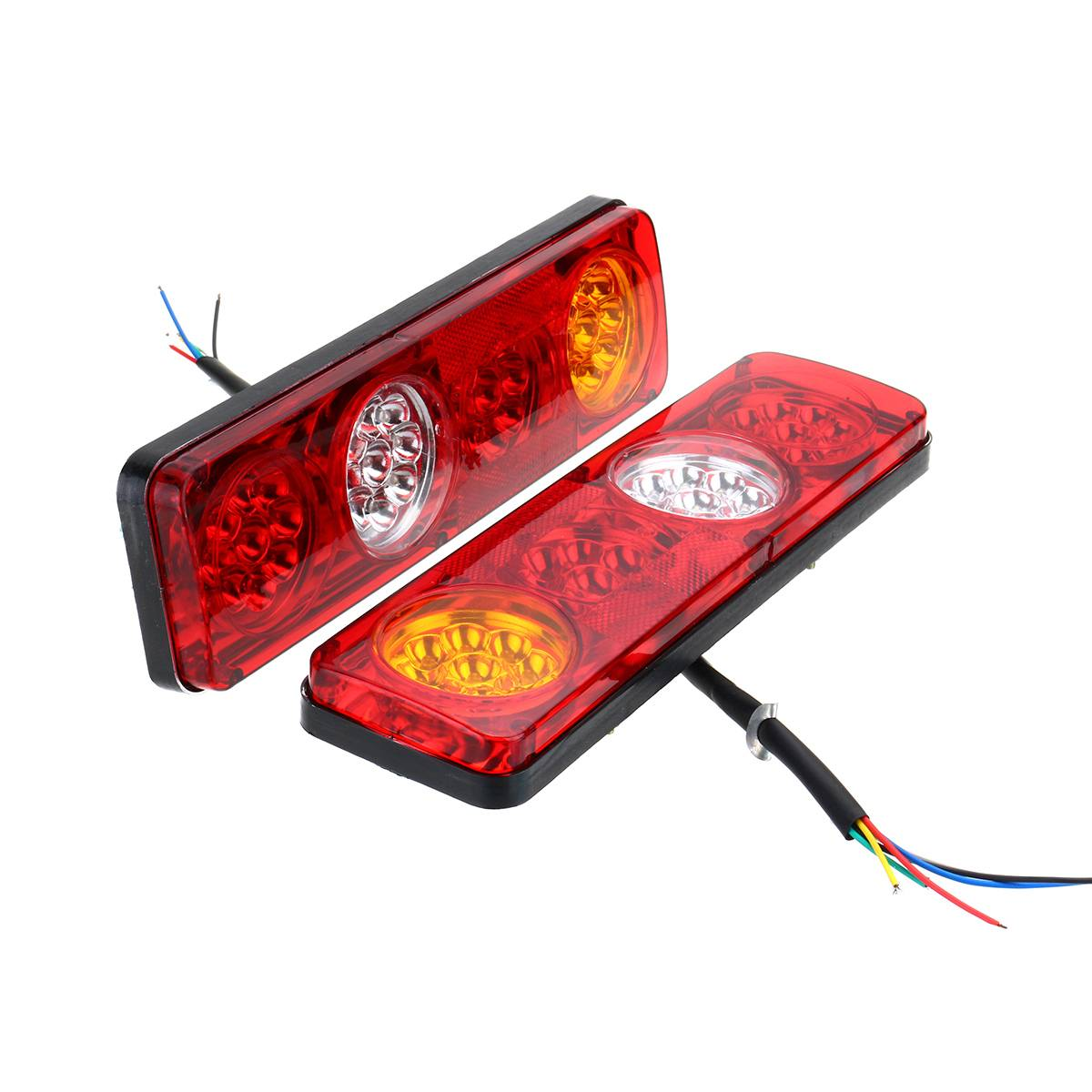 36 LED 24V LED Waterproof Car Rear Tail Lights Lamp Brake Stop Light for Trailer Caravan Truck Lorry