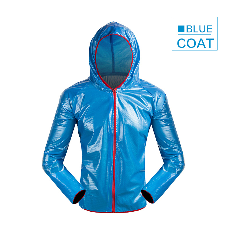 Waterproof Rainproof Cycling Jacket Men Women Windstopper Bike Bicycle Raincoat Black/green/blue/white Cycling Rain Wind Jacket SH190702