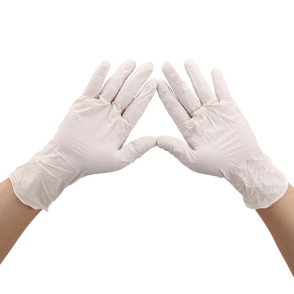 Disposable Nitrile Protective Gloves S/M/L/XL Powder-free Isolate Oil Bacteria Glove Hand Protection Personal Health