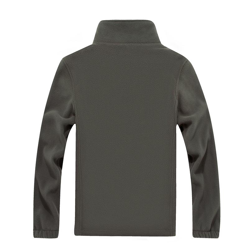 Sonbahar Ve Kış Yeni erkek Hırka Ceket Kalın Polar Ceket Kalın Yün Ceket Kalın Polar Düz Renk erkek Büyük Boy 7XL T190831