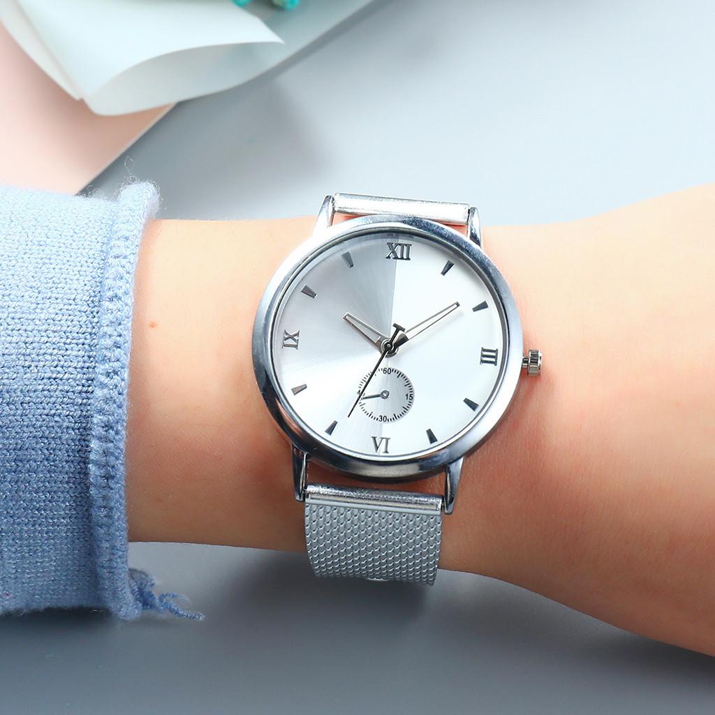 Ishowtienda vansvar das mulheres casual quartz pulseira de couro de plástico starry sky analógico relógio de pulso de luxo novo estilo reloj femenino @ 4 t190619