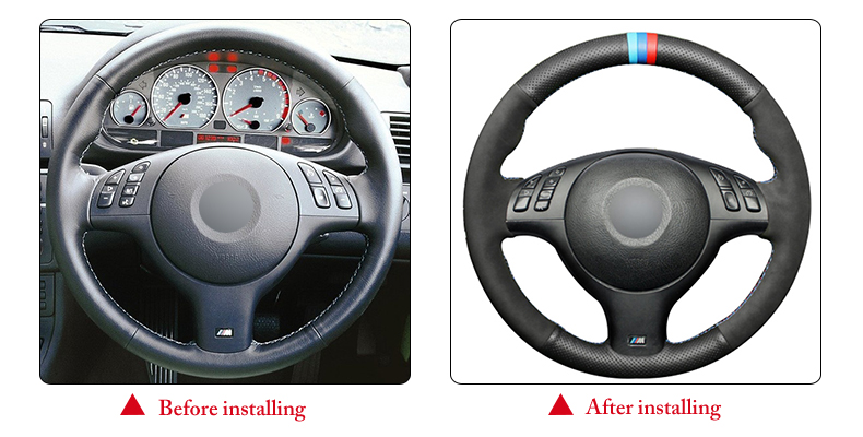 for BMW E39 steering wheel cover