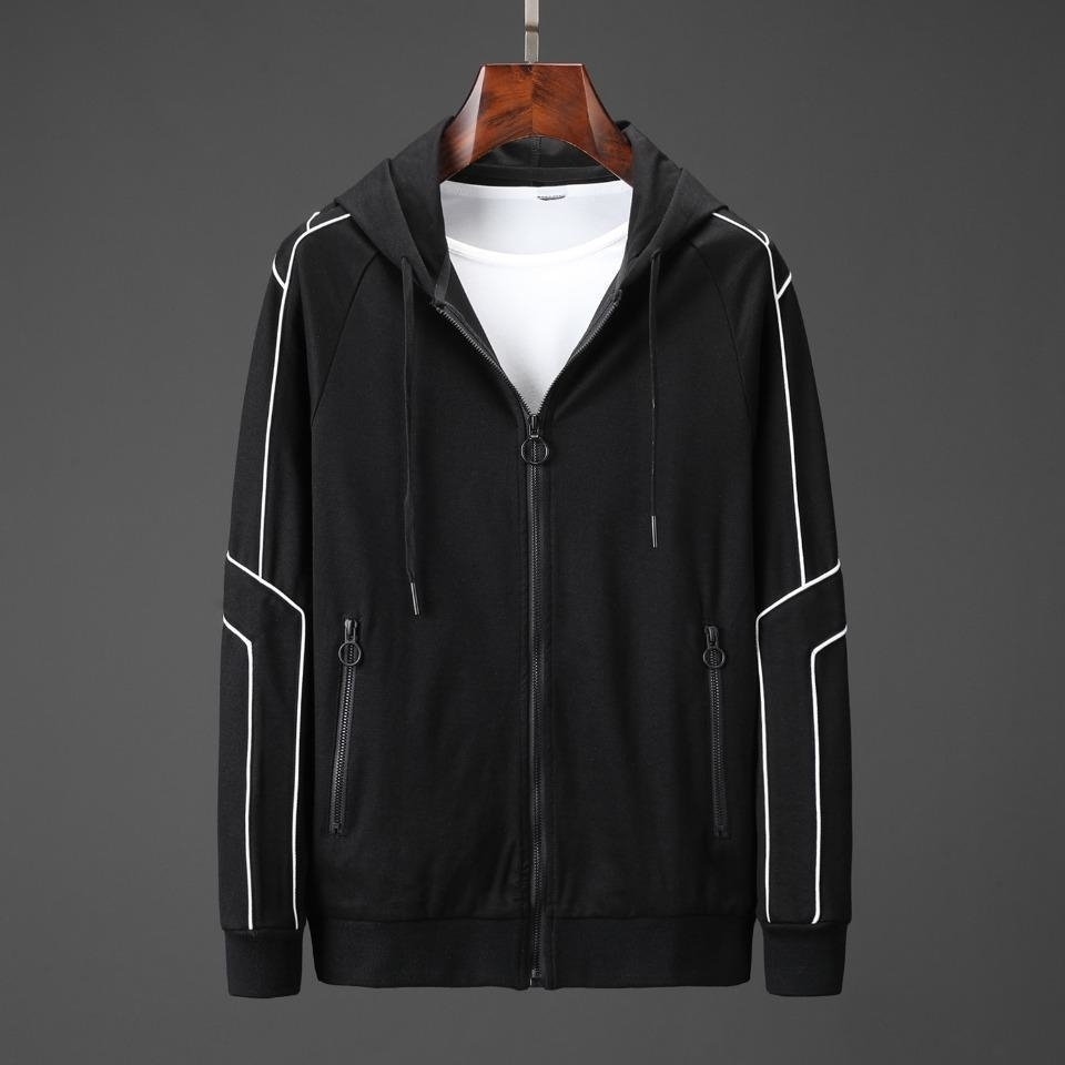 Mens Spring Autumn brand Tracksuits Print Zipper Suit Tops jackets jogging Pants Mens Casual Sweatshirt Sport Suits size M-3XL 34