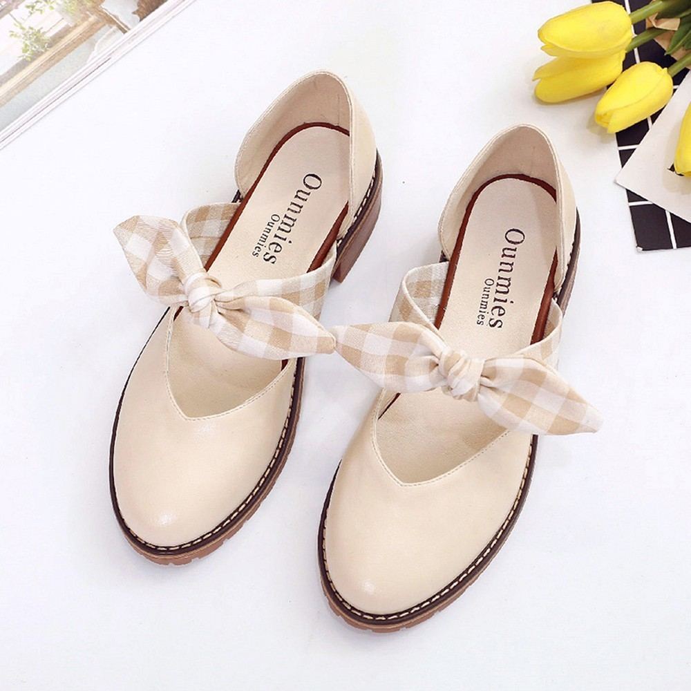 Shoes Women Casual Summer Heeled Slides Ladies Slip-on Round Toe Pointed Toe Butterfly knot For Girls Chunky Heel Footwear