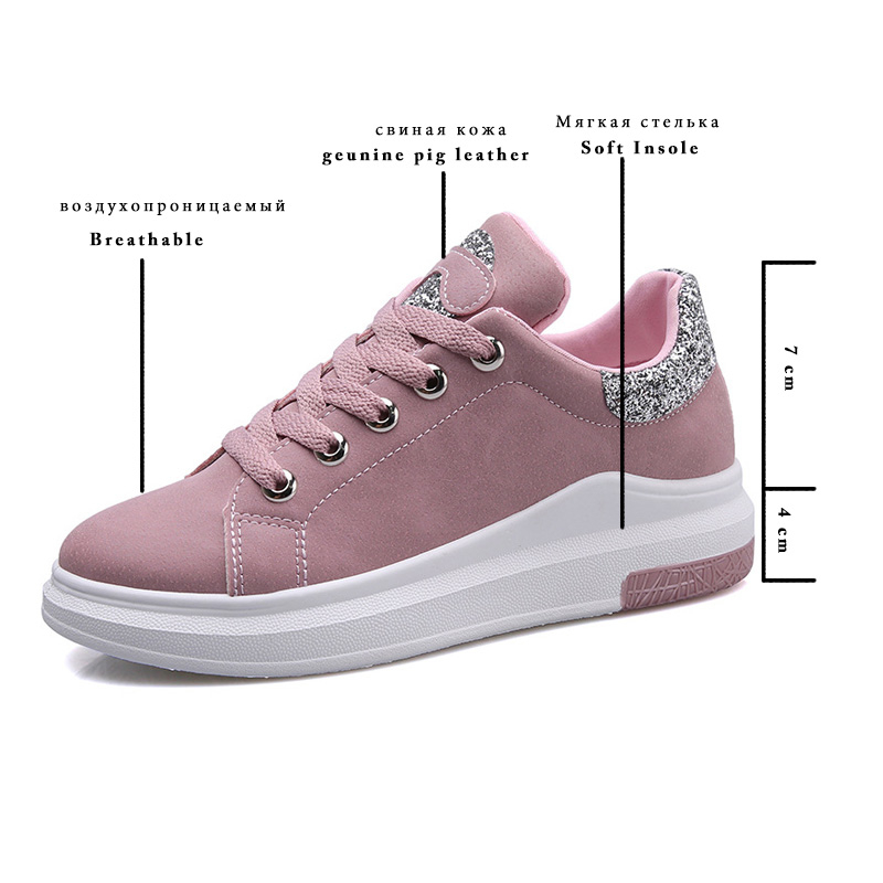 Fujin Brand 2018 Spring Women New Sneakers Autumn Soft Comfortable Casual Shoes Fashion Lady Flats Female Shoes For Student MX190819