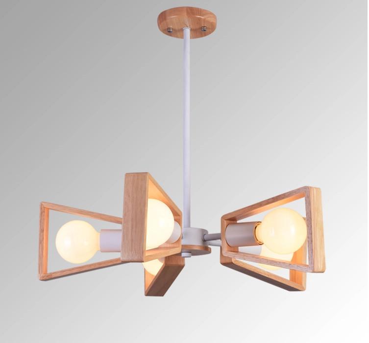 white black leaves ceiling lights modern fan iron wooden chandelier