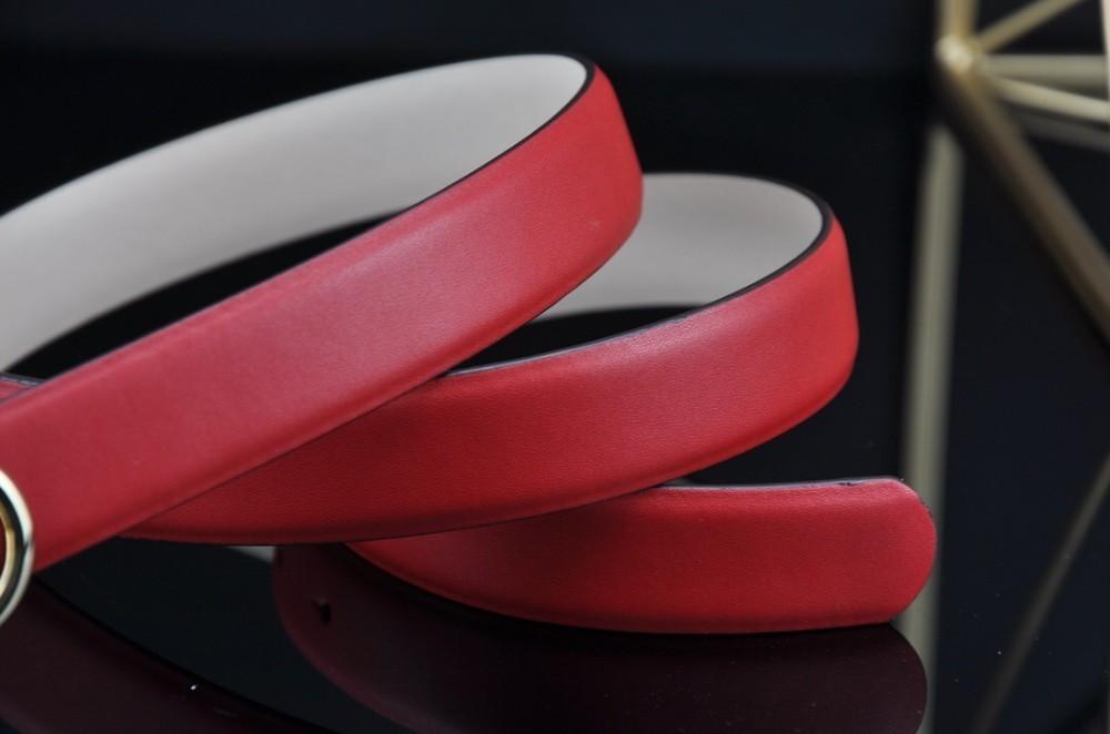 Cinturón nuevo para mujer F 2019 con hebillas de cinturón de moda de cuero importado para cinturones con botones para mujer ancho: 2,5 cm