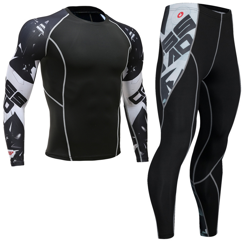 Newest-Fitness-Compression-Sets-Jerseys-Men-3D-Printed-MMA-Crossfit-Muscle-Shirt-Leggings-Base-Layer-Tights (5)