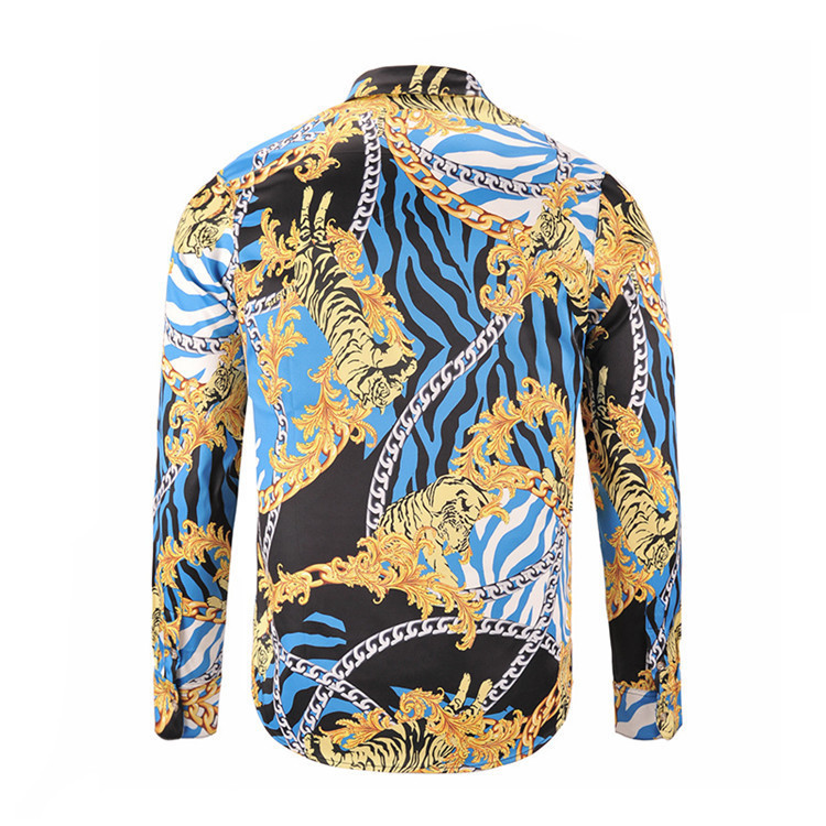 Man Long Sleeves Color Shirt mens casual Slim fit Korean Edition Trend Inch Business Affairs Hot Money Men's Wear