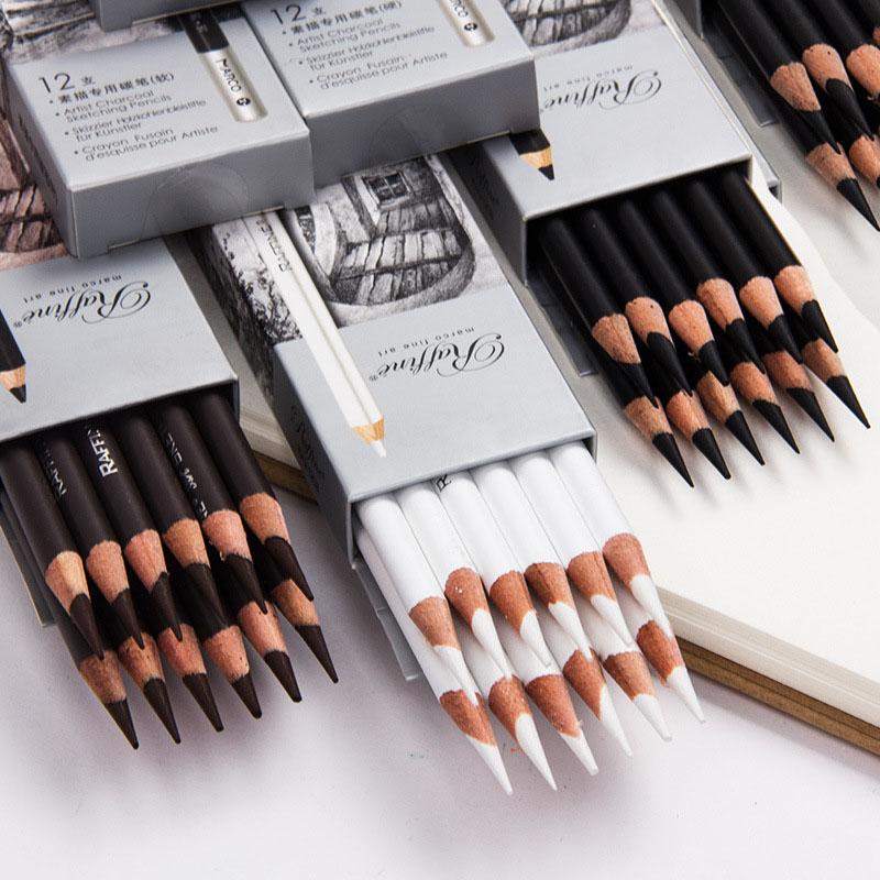 Ungiftig Bleistifte Art Malerei Zeichnung Studenten Pencils Tragbar Anfänger