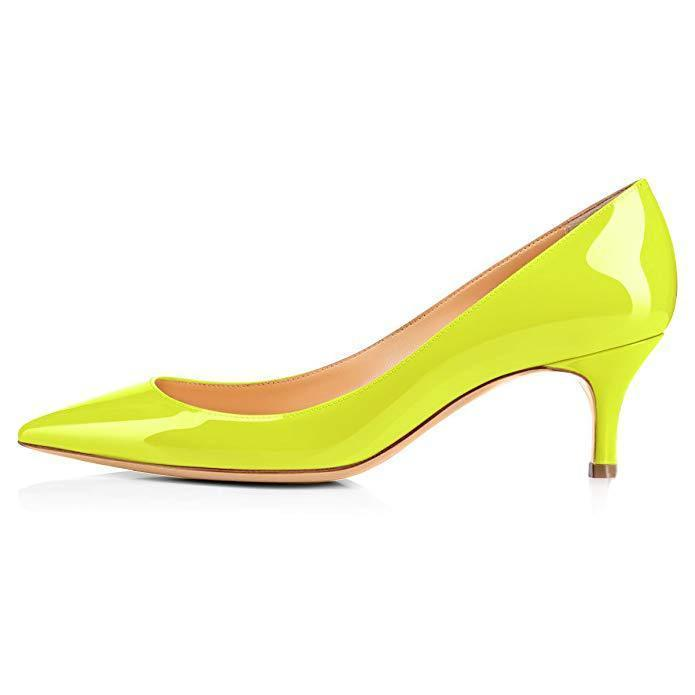 Hot2019 Wedding Show Year High-heeled Sharp Fine With Single Shoe Fruit Green Ol Shallow Mouth Women's Shoes