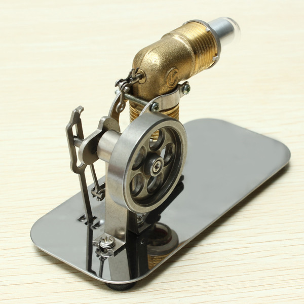 Stirling engine birthday present Mini model puzzle Scientific experiments equipment High temperature physical toy4