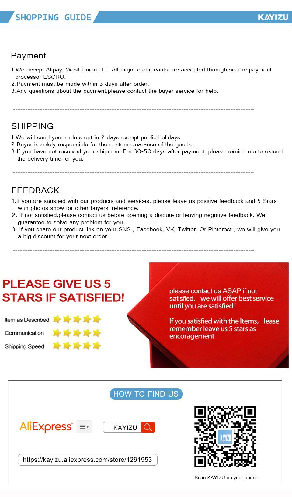 7-shopping guide