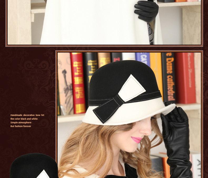 black round hat