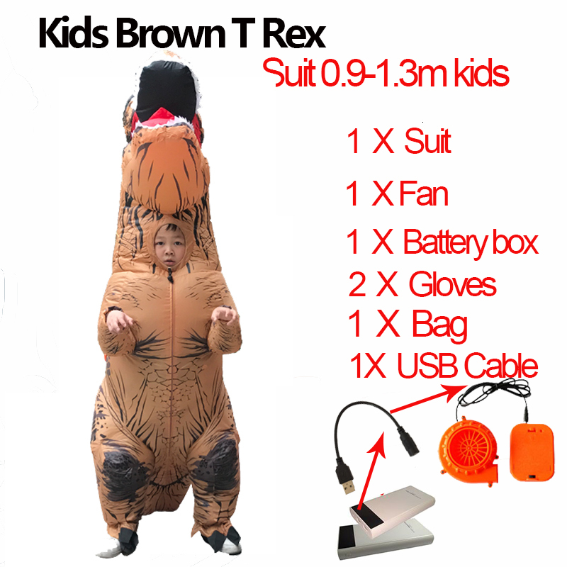 Jurassic World t rex Velociraptor Costume For Adult Cosplay Fantasy Halloween Inflatable T REX Raptor Dinosaur Costume for Women (2)