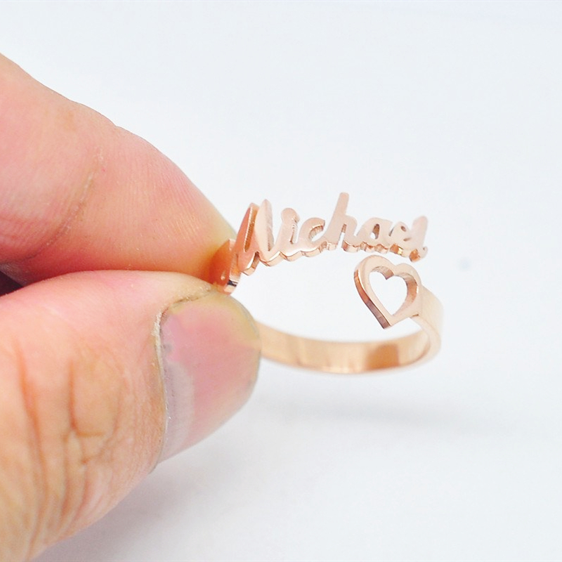 Gold Name Rings Online Shopping Buy Gold Name Rings At Dhgate Com