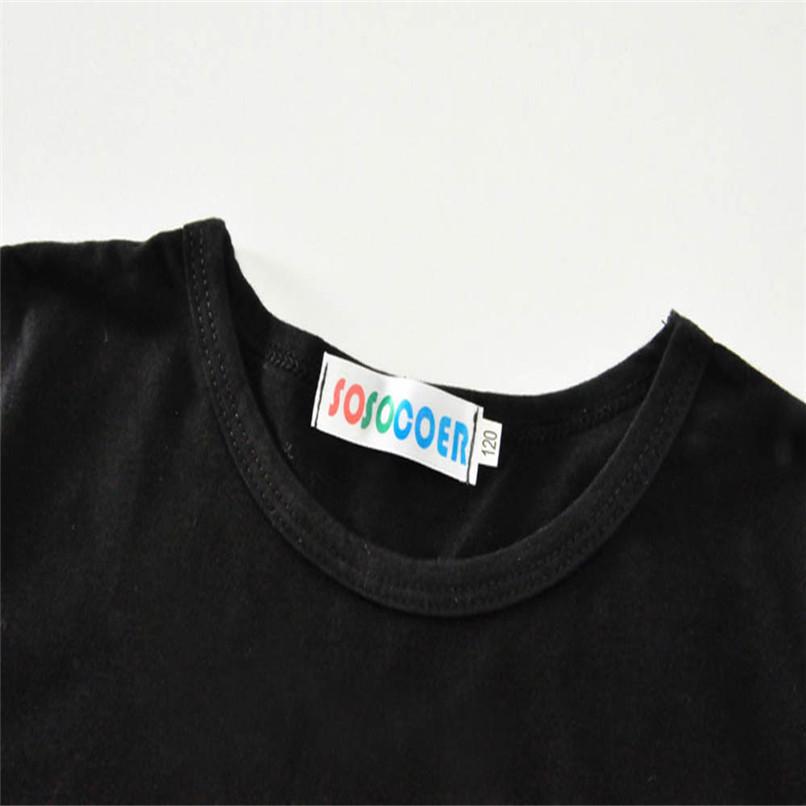2Pcs Summer Boys Sets Toddler Baby Kids Boy Short Sleeve Letter Print Tops T-Shirt+Dog Print Pants Set Clothes M8Y06 (8)