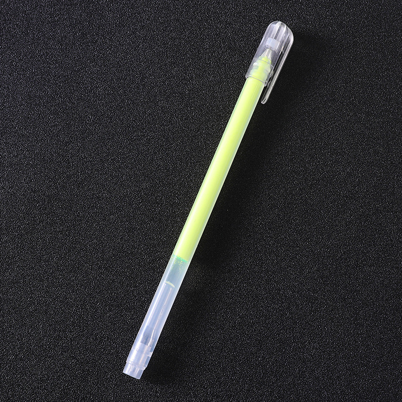 Colori di caramelle In evidenza Cartone nero Pastello Album FAI DA TE Penna fluorescente Pittura Graffiti Penna a mano WJ070