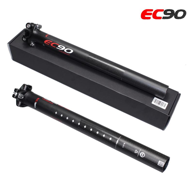 1 EC90 Ultraleicht Fahrrad Sattelstütze Carbon Faser MTB Rennrad Sattelstütze