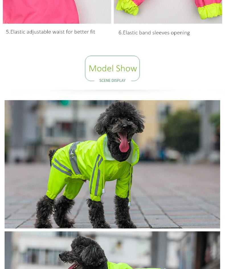 Dog Rain Coat (7)