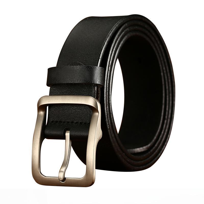 Mens Dress Belt Leather Single Prong Buckle,BCDshop Waistband Belts Strap for Jeams Shorts Pants