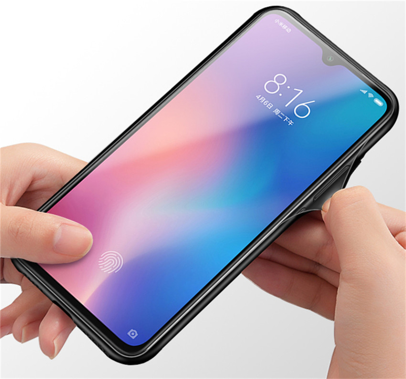 Aixuan Glass Case For Xiaomi mi 9 Mi9 Explorer Xiaomi mi 9 SE Case painted Tempered Glass Silicon Protective full Cover Cases (9)