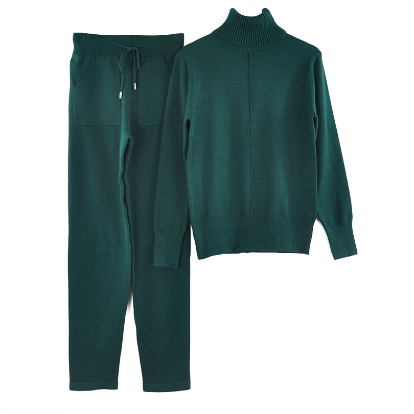 lined knit suit COLOR (6)
