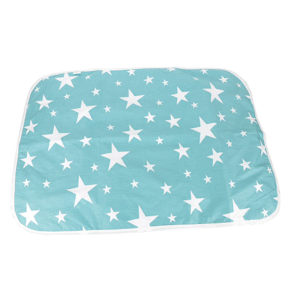 1pc Portable Newborn Baby Changing Nappy Pad Breathable Washable Printed Diaper
