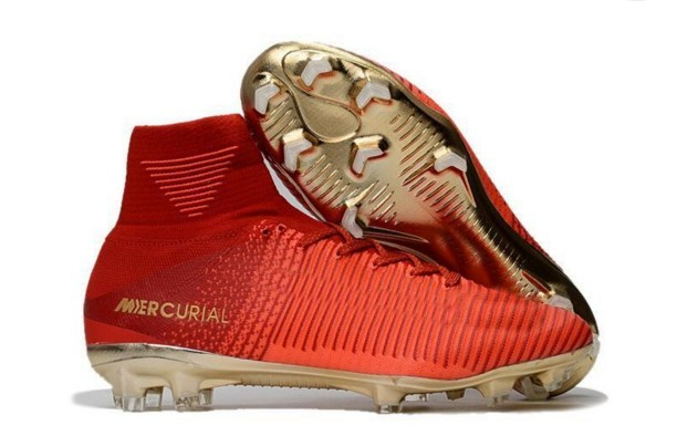 Cheap Soccer Shoes Mercurial Superfly FG High Quality ACC CR7 Football Shoes For Sale Cleats Cheap Sports Boots Size 35-45