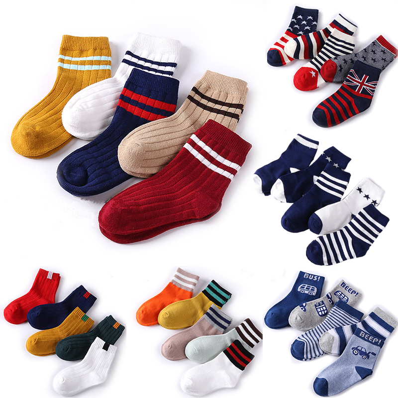 FEITONG Cute Silica Gel Cotton Baby Non-slip Kids Girls Toddlers Socks
