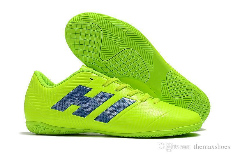 f0a9a5170 ... Messi Nemeziz New Tango 18.4 Ic Tf Cheap Turf Cleats 18 Mens Indoor  Outdoor Soccer Shoes ...