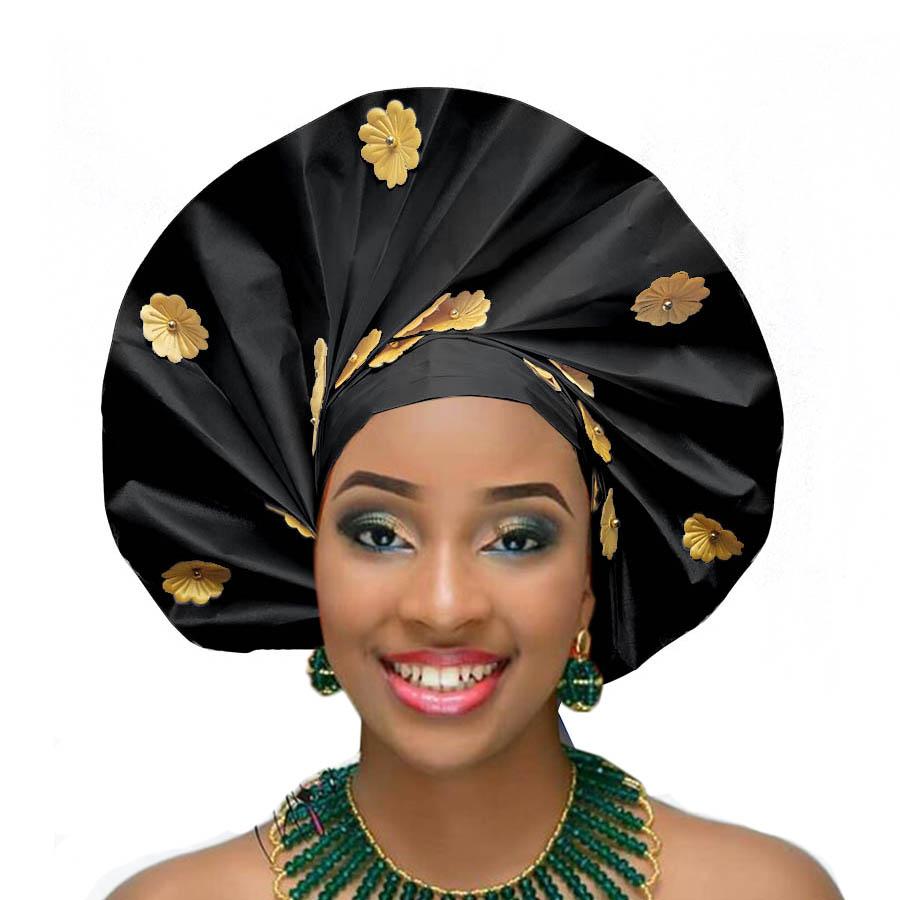 2018 african headtie wraps aso oke gele nigerian headwear asobi headdress african turban (3)