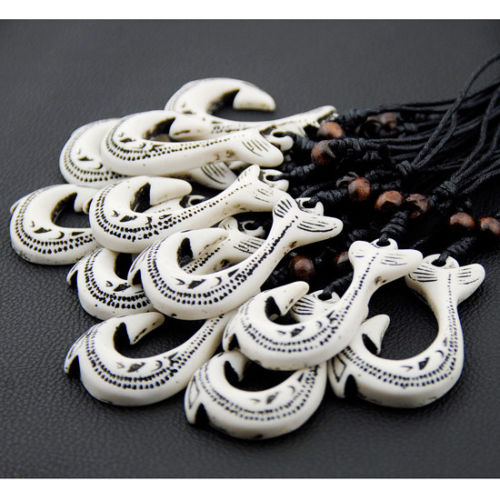 Wholesale Bone Fish Hook Necklace Buy Cheap In Bulk From China Suppliers With Coupon Dhgate Com