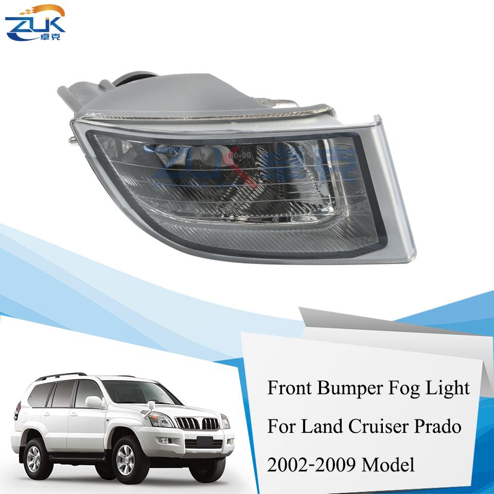 Feux de brouillard avant 1Paire pour Toyota Land Cruiser Prado FJ120 2700//4000