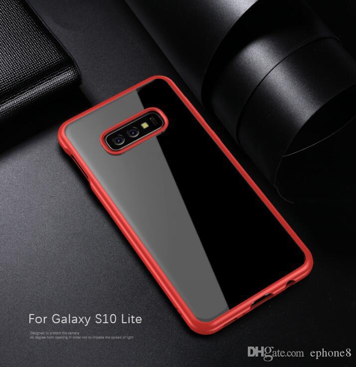 2019 new in atock Clear TPU Phone Case for Samsung Galaxy S10 Plus S10 Lite Defender Case High Impact Back Cover