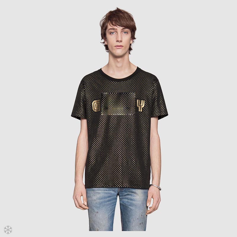 Fashion-Brand Men's Cool T-shirt Summer New Designer Hot Sale Fashion Little Stars Print Style T-shirt Trend Short Sleeve Tops Size M-3XL