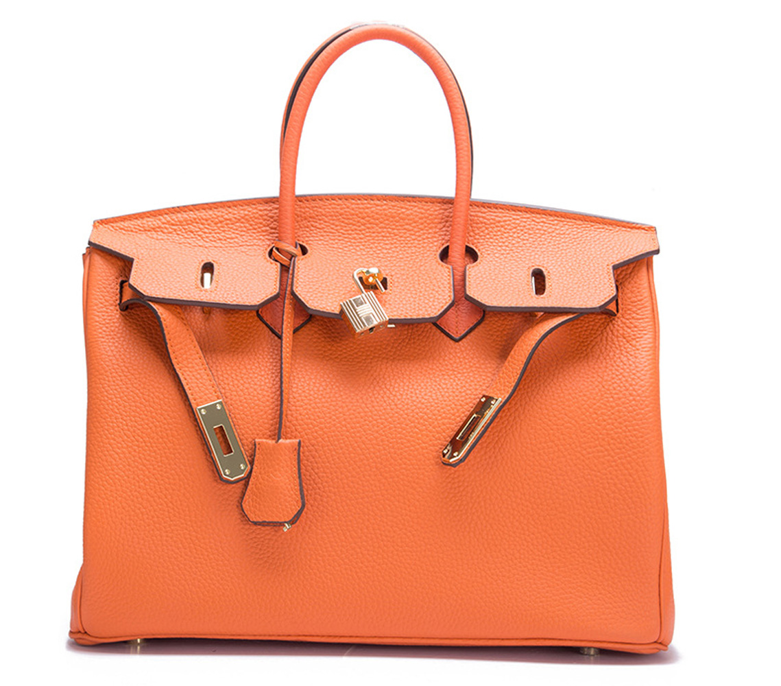 25//30//35CM High Quality WOMEN TOGO HANDBAG BK STYLY REAL LEATHER BAG
