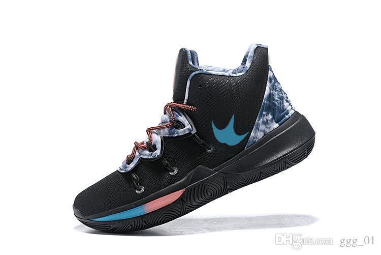 newest 2019 Kyrie 5 Ikhet black magic Men s Basketball Shoes weave Basketball Irving Sport Sneaker size 7-12