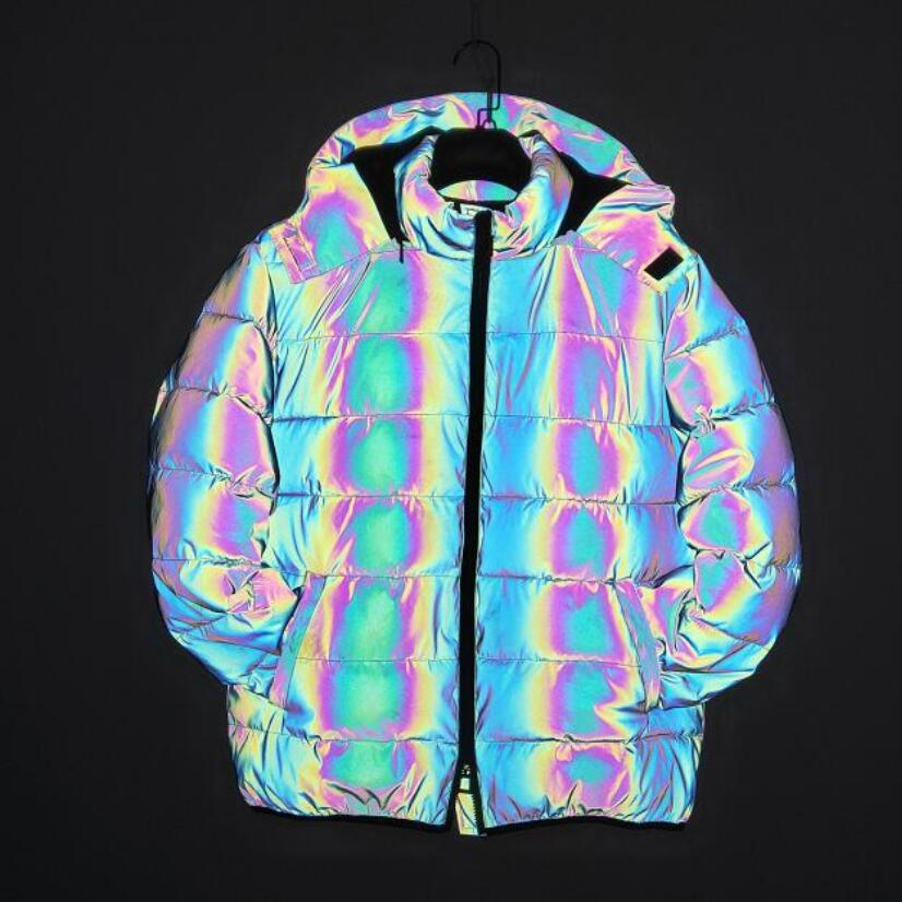 E9 capucha-chaqueta iris para damas Apple