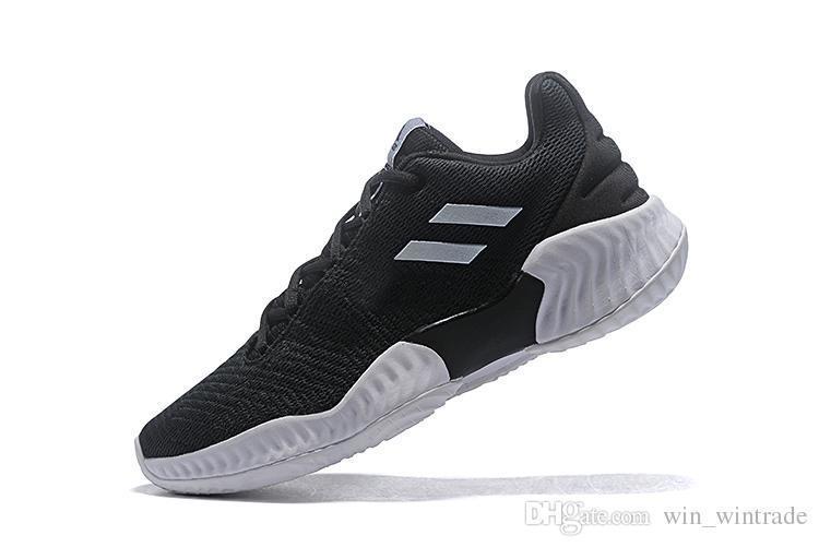 2019 new pro bounce low basketball shoes Donovan Mitchell shoes men sports original designer size 40-45